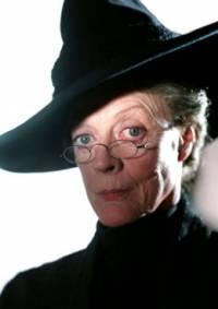 Která herečka ztvárnila postavu profesorky McGonagallové? (náhled)