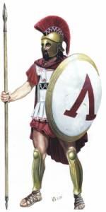 """Řecko však Perské říši odolalo a nepopiratelnou zásluhu na tom mají nejdisciplinovanější vojáci na světě až do dob Legionářů.Z kama tito vojáci s pověstným """"Ačkem"""" na štítu pocházejí?"""