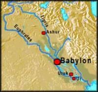 Bezesporu největší bitva Alexandra Velikého byla u Gaugamél 331př.n.l.Podívejte se na mapu,nejblíž kterého město leží Gaugamély? (náhled)