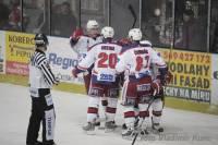 Na obrázku vidíme tým z české 1. hokejové ligy. Jaký? (náhled)