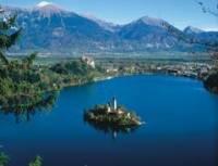 Vyber správně jaký jezero je na obrázku. (náhled)