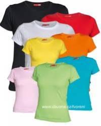 Jaké barvy mají trička?