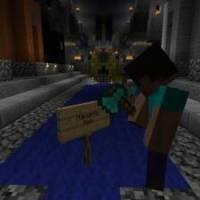 Co drží v ruce minecraftový panáček? (náhled)
