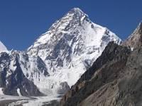 Jaká je hora s nejvyšší nadmořskou výškou v pohoří Karákóram? (náhled)
