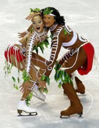 Krasobruslaři, kteří tvoří taneční pár na obrázku č.7 se jmenují: (náhled)