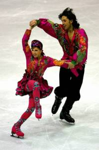 Kteří krasobruslaři tvoří taneční pár na obrázku č.9? (náhled)