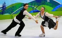 Jak se jmenují krasobruslaři, kteří tvoří taneční pár na fotografii č.12? (náhled)