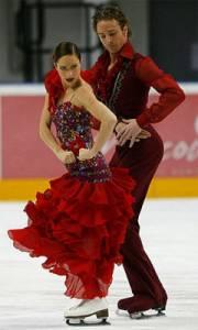 Krasobruslaři, kteří tvoří taneční pár na obrázku č.3, se jmenují: (náhled)