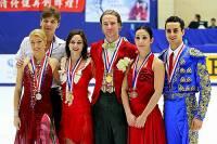 Kteří medailisté stojí na stupních vítězů na obrázku č.7? (náhled)