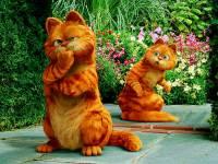 Kocoura Garfielda ze stejnojmenného filmu, z kterého je fotografie č.10, jste jistě poznali. Ale jak se jmenuje jeho dvojník? (náhled)