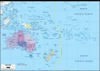 Nejmenším kontinentem, zahrnujícím jen 6% pevniny na světě, je Austrálie a okolní ostrovy označované souhrnným názvem Oceánie. Tento nejmenší světadíl se vyznačuje i nejnižším počtem obyvatel, který je? (náhled)