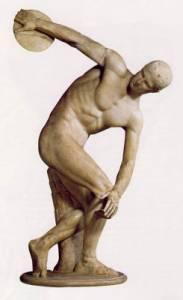 Autorem slavné sochy Diskobola je: (náhled)