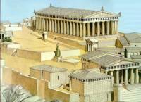 Sochař Feidiás vedl stavbu chrámu v Athénách, který se jmenuje: (náhled)