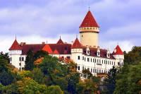 Který hrad/zámek je na obrázku č.4? (náhled)