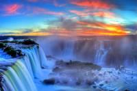 Jaké vodopády zapsané na seznamu UNESCO vidíte na fotografii č.8? (náhled)