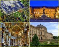 Rezidence s přilehlými zahradami a parky byla zapsána na seznam UNESCO i proto, že je jedním z největších barokních paláců nejen ve své zemi, ale i na světě. Ve kterém městě se kulturní památka na fotografii č.14 nachází? (náhled)