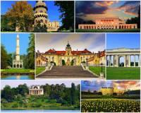 Mezi kulturní památky UNESCO jsou kromě významných historických budov a unikátních staveb zapsány i krajinné celky s historickými budovami a přilehlými zahradami a parky. Krajinný celek, který je na fotografii č.1 a do seznamu UNESCO byl zapsán v r.1996, nese název: (náhled)