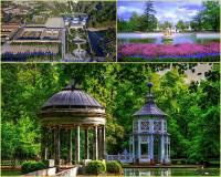 Jak se jmenuje krajinný celek s historickými budovami a přilehlými zahradami a parky na fotografii č.14, který byl na seznam UNESCO zapsán v r.2001? (náhled)