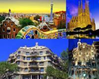 Ke kulturním památkám UNESCO patří i architektonická díla, která vidíte na obrázku č.4. Kdo je autorem unikátních staveb na obrázku č.4? (náhled)