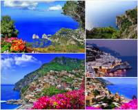 Jak se jmenuje pobřeží, pro které jsou typická letoviska na fotografii č.7? Pro svoji přírodní rozmanitost a malebná romantická letoviska bylo zapsáno na seznam UNESCO v r.1997. (náhled)