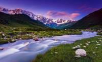 Které pohoří zapsané na seznam UNESCO v r.1999 je na obrázku č.9? (náhled)