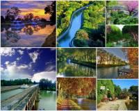 Na fotografii č.15 je rozsáhlá síť vodních cest známá pod názvem Canal du Midi. Toto unikátní technické vodní dílo vybudované ve Francii v 2. polovině 17. století bylo v r.1996 zařazeno jako průkopnické technické dílo do seznamu UNESCO. Za jakým účelem byl Kanál du Midi vybudován? (náhled)