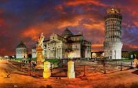 Náměstí s mistrovskými díly středověké architektury na fotografii č.10 bylo do seznamu UNESCO zapsáno v r.1987. Jak se náměstí jmenuje? (náhled)