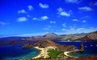 Jak se jmenuje souostroví 18 sopečných ostrovů na obrázku č.6, které jsou proslulé tím, že pouze zde žije mnoho druhů vzácných živočichů, kteří se jinde ve světě nevyskytují? Jako místo ojedinělého výskytu vzácných živočichů bylo souostroví v r.1978 zapsáno na seznam UNESCO. (náhled)
