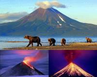 Ze které vulkanicky činné oblasti zapsané na seznamu UNESCO je fotografie č.1? (náhled)