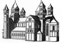 """Větší """"vícelodní"""" kostely se nazývají: (náhled)"""