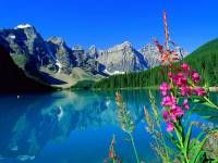 Kanada je proslulá svoji překrásnou přírodou. Proto je na jejím území několik národních parků. Z kterého kanadského národního parku je fotografie č.16? (náhled)