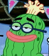 Jak se jmenoval vůdce Medůzojezdců, ke kterým se chtěl Spongebob přidat? (Oni ho nechtěli) (náhled)