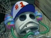 Jak se jmenoval skutečný vlastník čepice č. 1 za kterou chtěli panu Krabsovi zaplatit 1 000 000 dolarů?