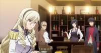 Ayako pracuje v místní hospodě za barem. Na akademii pracuje jako? (náhled)
