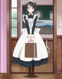 Služebná rodiny Amatsuka, Mori, má zvláštní zálibu, jakou? (náhled)