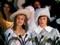 """Jsou na obrázku č.4 princezna Růženka a princ Jaromír z filmové pohádky """"Jak se budí princezny""""? (náhled)"""