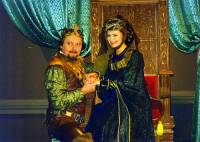 """Je na fotografii č.20 král Svatopluk s královnou Milenou z pohádky """"Klíček ke štěstí""""? (náhled)"""