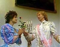 """Jsou na obrázku č.2 princ David a jeho budoucí žena, zrcadelnice Běla, z pohádky """"Co takhle svatba, princi?"""" (náhled)"""