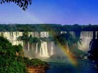 Jaké vodopády patřící k nejkrásnějším na světě vidíte na obrázku č.1? (náhled)