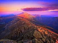 Jaké pohoří vidíte na obrázku č.9? (náhled)