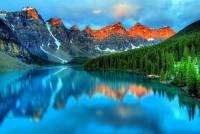 V národních parcích USA a Kanady je několik jezer. Které z nich je na fotografii č.14? (náhled)
