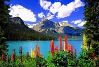 V národních parcích USA a Kanady je několik jezer. Které z nich je na fotografii č.8? (náhled)