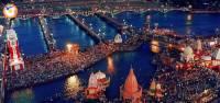 Na obrázku č.14 vidíte obřad uctění posvátné řeky. Jak se posvátná řeka jmenuje? (náhled)