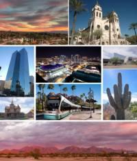 Nejlidnatější pouštní město USA. (náhled)