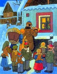 Který malíř, známý svými pohlednicemi vánoční a zimní krajiny, je symbolem českých Vánoc? (náhled)