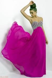 Odstín barvy plesových šatů, které má oblečené modelka na fotografii č.10 má název: (náhled)