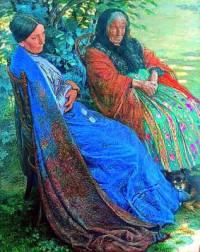 """Který slavný malíř namaloval obraz č.10 """"Dvě matky""""? (náhled)"""