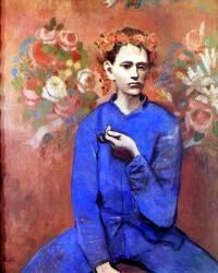 """Obraz č.13 """"Chlapec s dýmkou"""" namaloval slavný malíř: (náhled)"""