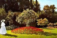 """Který slavný malíř je autorem obrazu č.15 """"Žena v zahradě""""? (náhled)"""