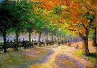 """Autorem obrazu č.7 """"Hyde Park v Londýně"""" je slavný malíř: (náhled)"""